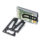 Toolcard Pro // Money Clip (Silver)
