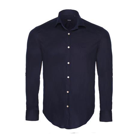 Classic Shirt // Navy (L)