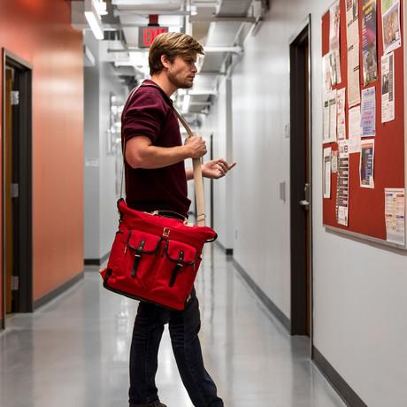 Phlox Backpack // Red