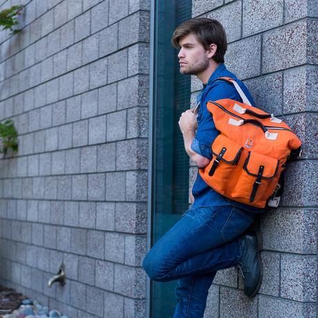 Phlox Backpack // Orange