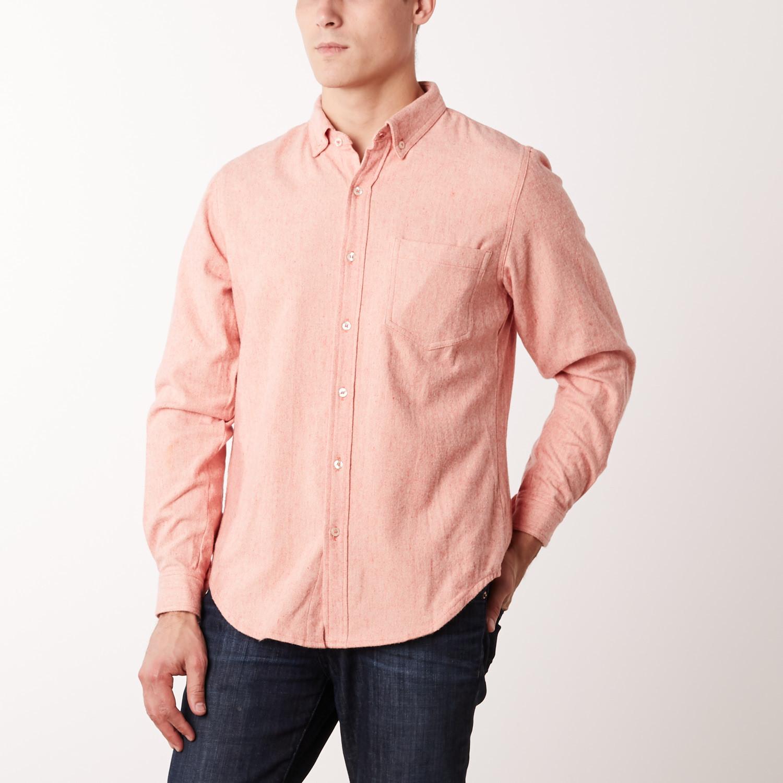 Pixel Coral Shirt Salmon Pink S Casavva Touch Of Modern