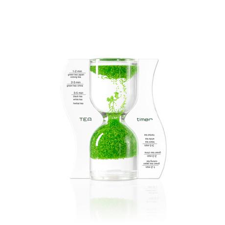 Tea Timer // Lime Green // Reverse Flow