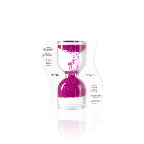 Tea Timer // Pink // Reverse Flow