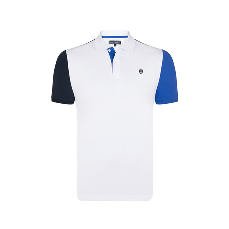 Lincoln Polo SS Shirt // White (S)