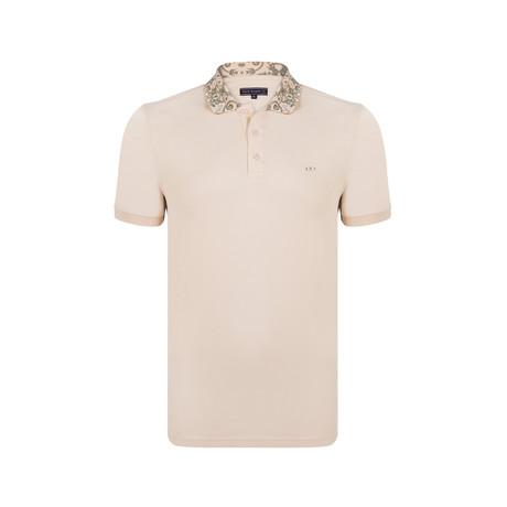Oscar Polo SS Shirt // Beige (S)