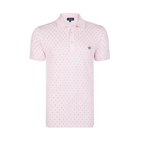 Ollie Polo SS Shirt // Pink (S)
