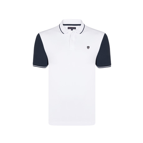 Leo Polo SS Shirt // White (S)