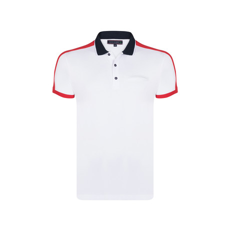 Theo Polo SS Shirt // White (S)