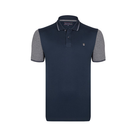Logan Polo SS Shirt // Navy (S)