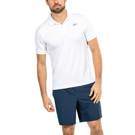 Brookfield Polo // White (S)