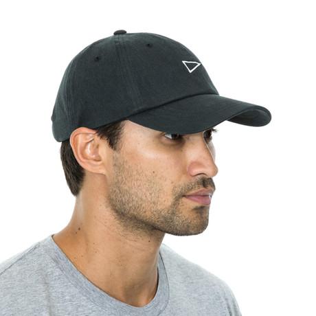 Flag Baseball Cap // Black