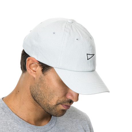 Flag Baseball Cap // Gray
