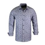 Dallas True Modern-Fit Long-Sleeve Dress Shirt // Gray (XL)