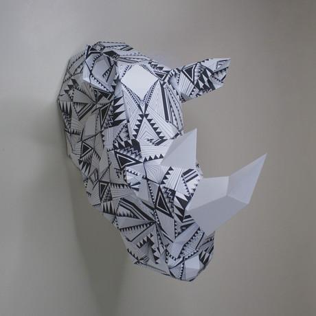 Bev The Geometric Rhino