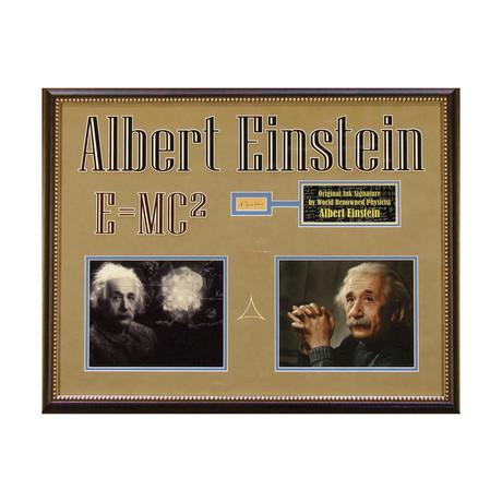 Albert Einstein // Original Ink Signature