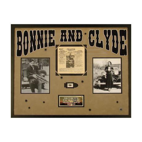 Bonnie & Clyde // Original 1934 FBI Wanted Poster