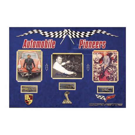 Automobile Pioneers // Signed Photographs