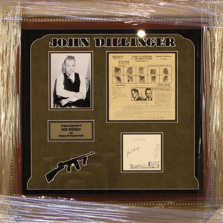 John Dillinger // Original FBI Wanted Poster
