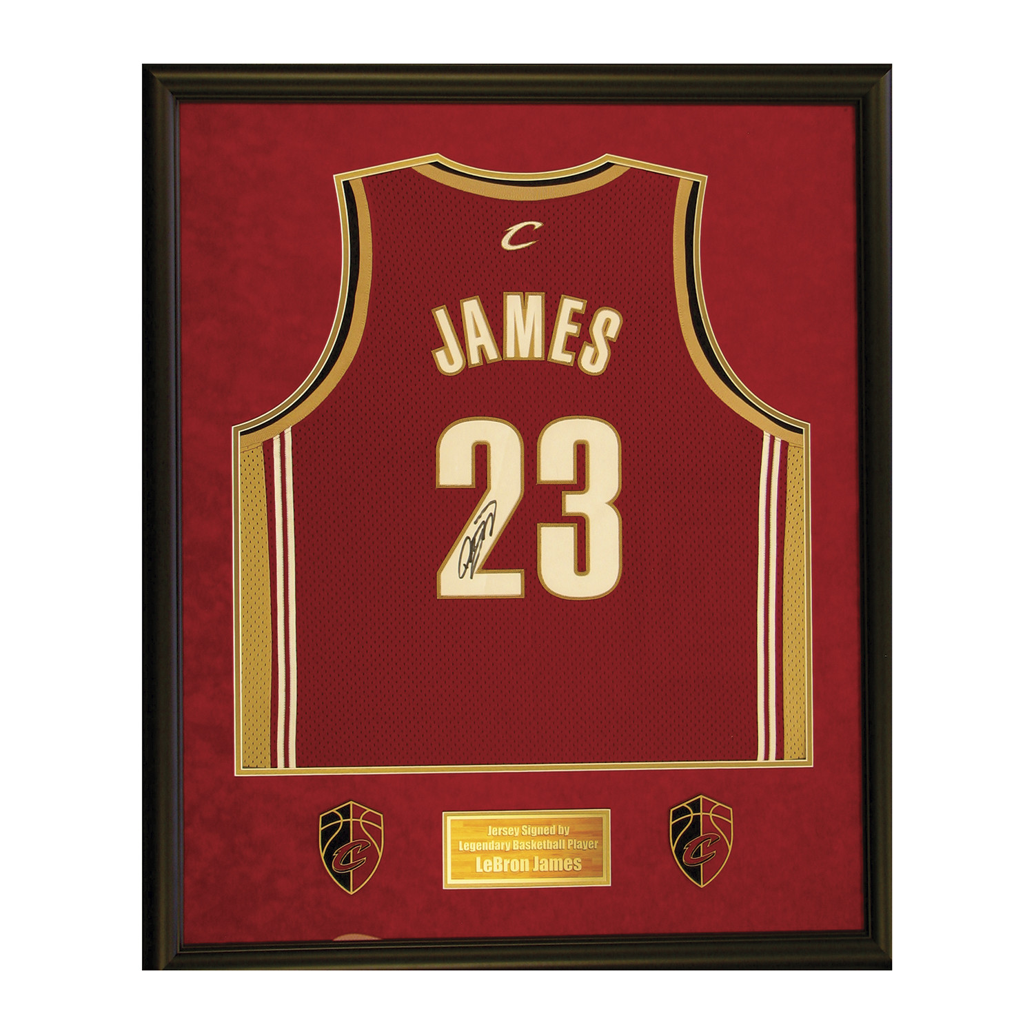 buy online 616ed a5591 Lebron James // Signed Jersey - Piece Of The Past - Touch of ...