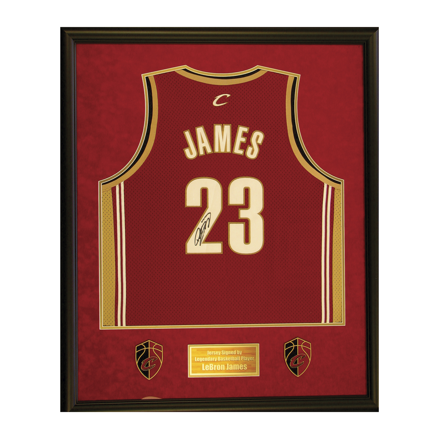 sale retailer c0369 53015 Lebron James // Signed Jersey