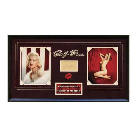 Marilyn Monroe // Original Ink Signature