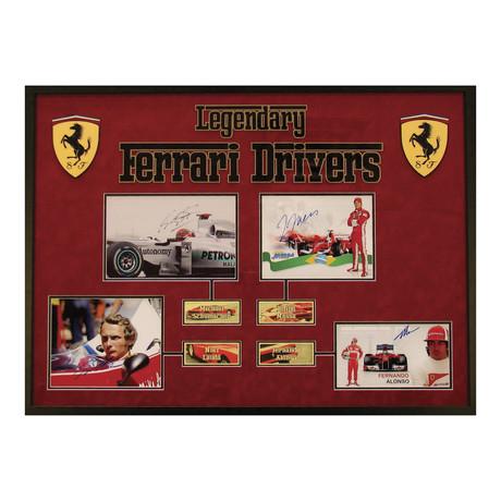 Legendary Ferrari Drivers // Signed Photograph