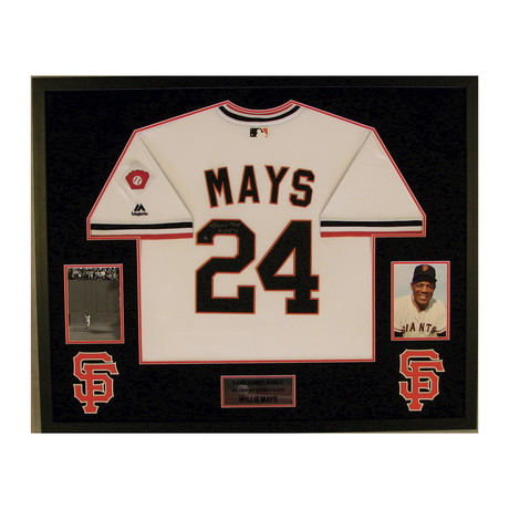 Willie Mays // Signed Jersey