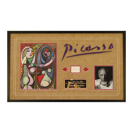 Pablo Picasso // Original Ink Signature