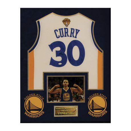 Stephen Curry // Signed Jersey