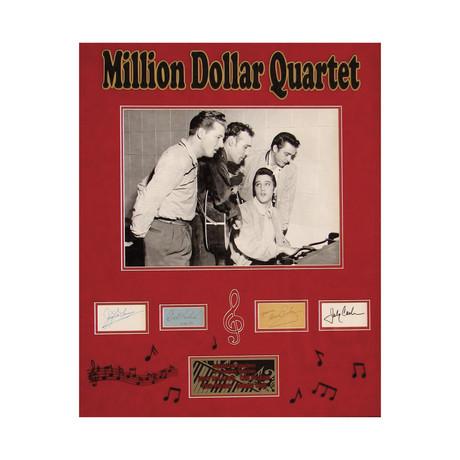 Million Dollar Quartet // Original Ink Signatures