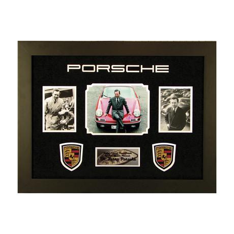 Ferry Porsche // Signed Photograph