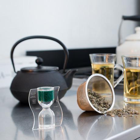 Tea Timer // Green // Reverse Flow
