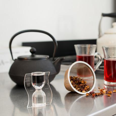 Tea Timer // Black // Reverse Flow