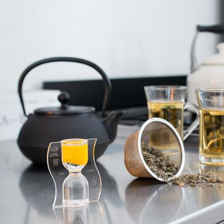 Tea Timer // Warm Yellow // Reverse Flow