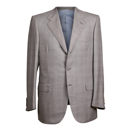 Rolling 3 Button Suit // Gray (US: 44R)