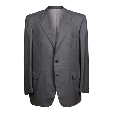 Super 150s Solid Rolling 3 Button Suit // Gray (US: 36S)
