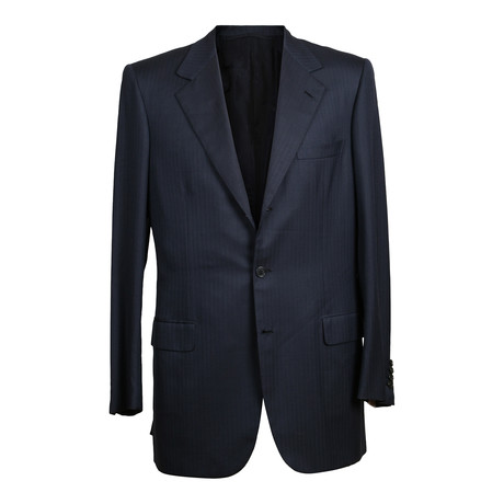 Rolling 3 Button Suit // Navy Blue (US: 36S)