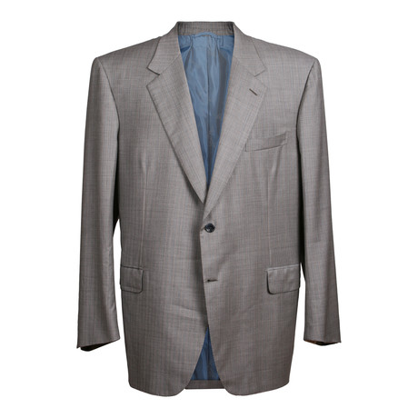 Striped 2 Button Suit // Gray // BRS12 (US: 36S)