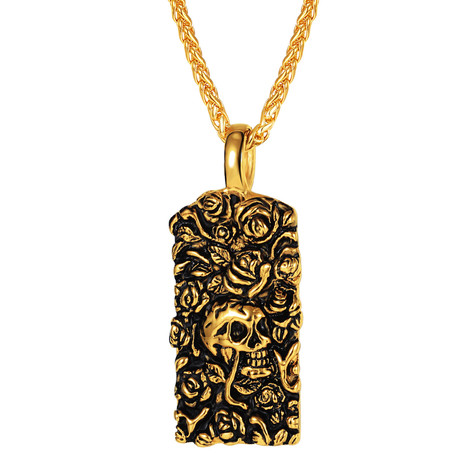 Roses Of Death Necklace