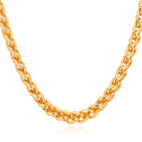 "Wheat Spiga Chain (22"")"