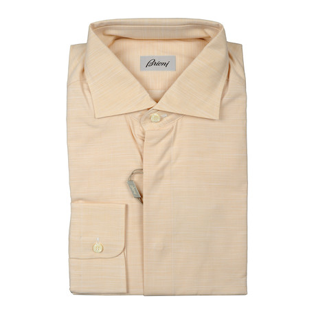 Augustus Dress Shirt // Tan (Euro: 38)