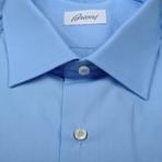 Brioni // Clifton Dress Shirt // Blue (Euro: 38)
