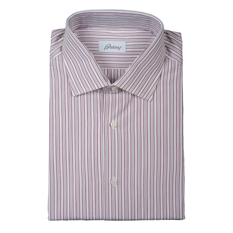 Brioni // Jose Dress Shirt // Red (Euro: 38)
