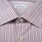 Brioni // Jose Dress Shirt // Red (Euro: 38)