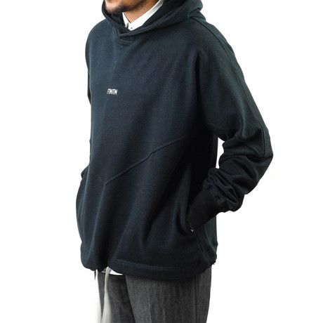 Goodwill Hoodie // Black + Black (XS)