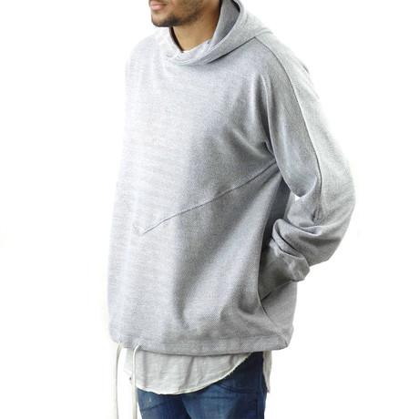 Goodwill Hoodie // Herringbone (XS)