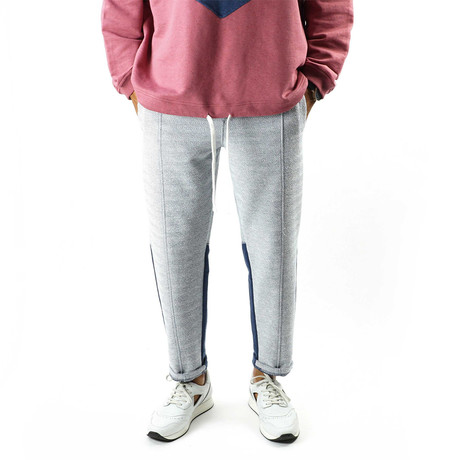 Formal Sweats // Herringbone + Navy (XS)