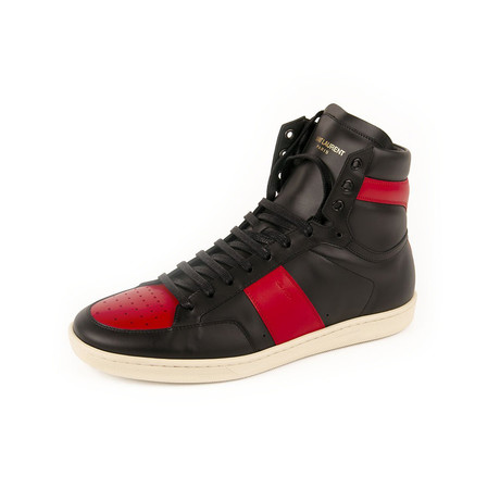 Court Classic SL-10H // Black + Red (Euro: 39)