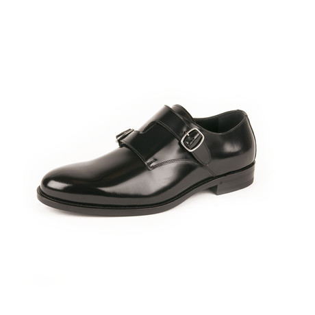 Dare 25 Monkstrap Shoes // Black (Euro: 39)