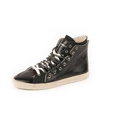 Rivington Double High Top Sneaker // Black (Euro: 39)